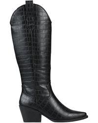 KG by Kurt Geiger Knee Boots - Black
