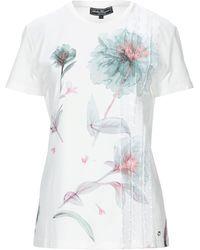 Ferragamo Camiseta - Blanco