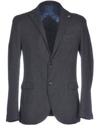 Tru Trussardi Coat - Black