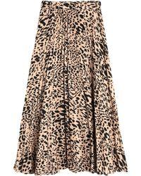 Soallure Long Skirt - Multicolour