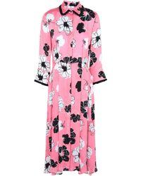 Sfizio Knee-length Dress - Pink