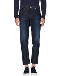 Department 5 - Denim Trousers - Lyst