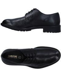Geox Zapatos de cordones - Negro