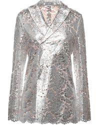 ANAЇS JOURDEN Suit Jacket - Metallic