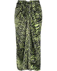 Ganni Long Skirt - Green