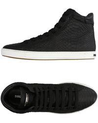 DSquared² - High Sneakers & Tennisschuhe - Lyst