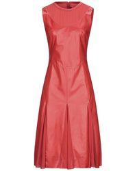 DROMe Vestito midi - Rosso