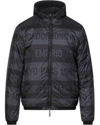 Emporio Armani Down Jacket - Black