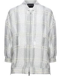 Emporio Armani Overcoat - Gray