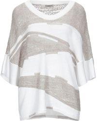 Crea Concept Pullover - Weiß
