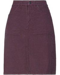 Pepe Jeans Midi Skirt - Purple