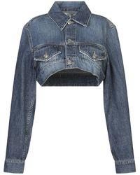 Ganni Denim Outerwear - Blue