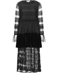 Amy Lynn Vestido por la rodilla - Negro