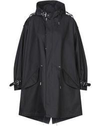 Celine Overcoat - Black