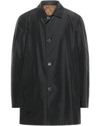 Corneliani Overcoat - Black