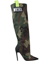 DIESEL Boots - Green