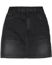 FRAME Denim Skirt - Black