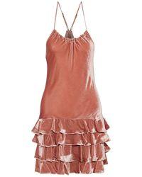 Marissa Webb Midi Dress - Pink
