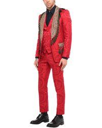 Dolce & Gabbana Traje - Rojo