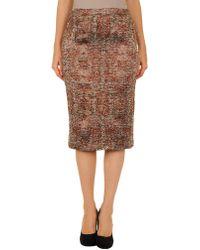 Richard Nicoll - 3/4 Length Skirt - Lyst