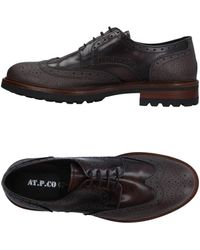 AT.P.CO Lace-up Shoes - Brown