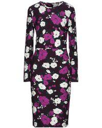 Erdem Knee-length Dress - Purple
