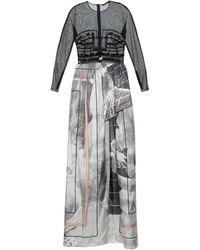Marios Schwab Short Dress - Grey
