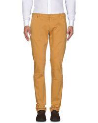 Michael Coal Casual Trouser - Multicolour
