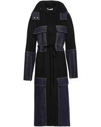 ADEAM Overcoat - Black