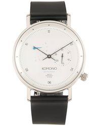 Komono Reloj de pulsera - Negro