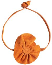 Carla G Necklace - Orange