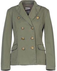 History Repeats Suit Jacket - Green