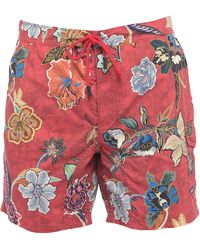 Etro Swimming Trunks - Red