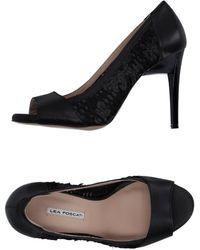 Lea Foscati Zapatos de salón - Negro