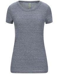 Alternative Apparel T-shirt - Bleu