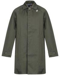 K-Way Overcoat - Green