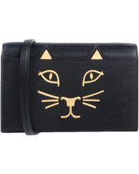 Charlotte Olympia Handbag - Black