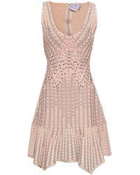 Hervé Léger Short Dress - Pink