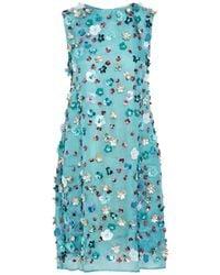 Mansur Gavriel Short Dress - Blue