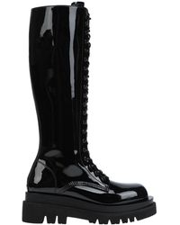 Jeffrey Campbell Knee Boots - Black
