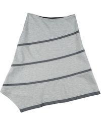 Jil Sander Navy Midi Skirt - Grey