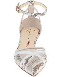 Fabi Ballet Flats - White
