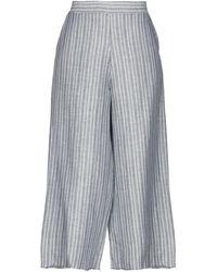DV ROMA Pantalones cropped - Azul