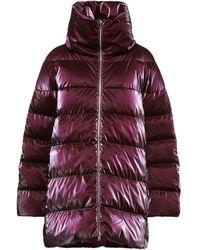 Add Down Jacket - Purple