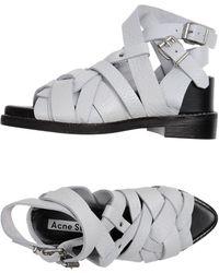 Acne Studios - Sandals - Lyst