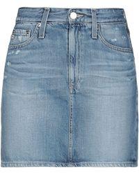 AG Jeans Denim Skirt - Blue