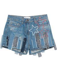 Faith Connexion Denim Shorts - Blue