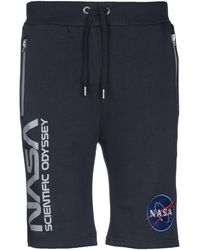 Alpha Industries Shorts & Bermuda Shorts - Blue