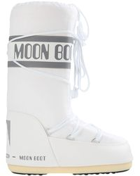 Moon Boot Logo-print Snow Boots - White