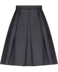 Annarita N. Knee Length Skirt - Black